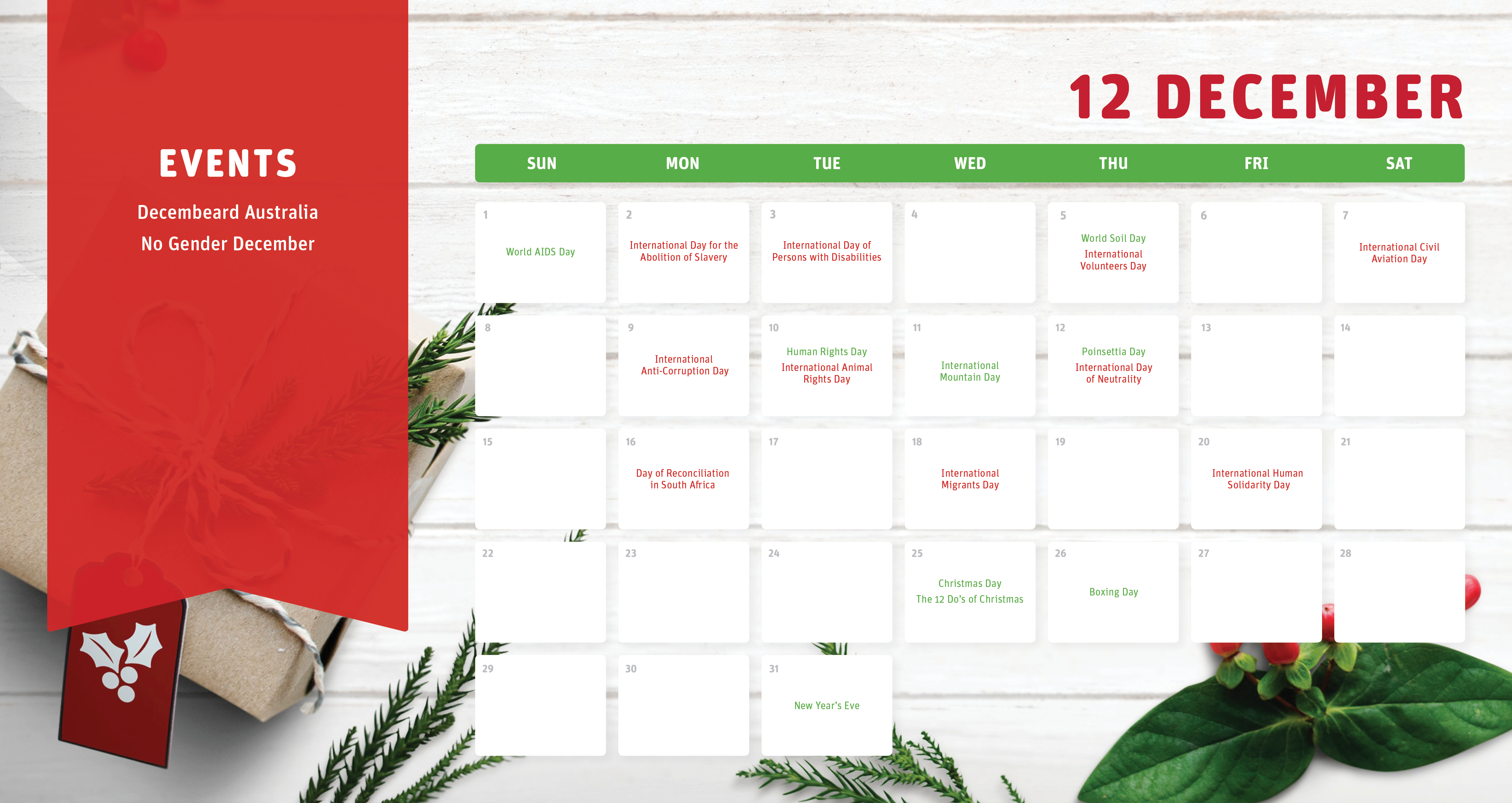 [DOWNLOAD] DECEMBER 2019 CALENDAR & 'HOW TO NEWSJACK THE NEWS' GUIDE